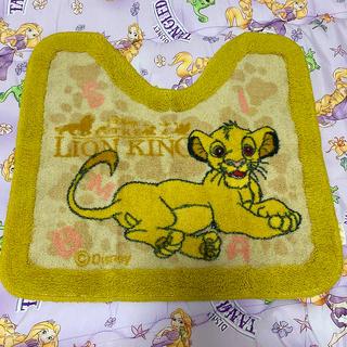 ディズニー(Disney)のライオンキング  トイレマット(トイレマット)