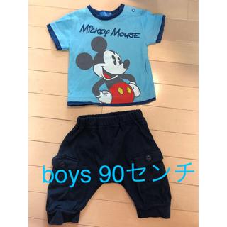 ディズニー(Disney)のDisney resort Tシャツ 90センチ ズボン セット(その他)