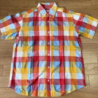 ニーム(NIMES)の半袖シャツ チェックシャツ parkes 半袖シャツ チェックシャツ(シャツ/ブラウス(半袖/袖なし))