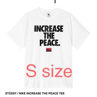 ナイキ(NIKE)のSTÜSSY / NIKE INCREASE THE PEACE TEE(Tシャツ/カットソー(半袖/袖なし))