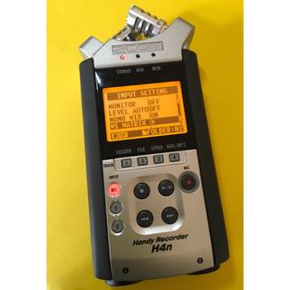 ズーム(Zoom)の6月1日特別価格!ZOOM ハンディーレコーダー H4n リニアPCMレコーダー(その他)