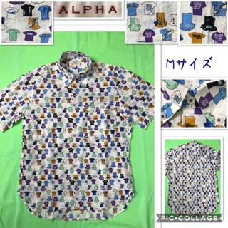 アルファ(alpha)の男性 M《ALPHA》(マリンTシャツ)シャツ(シャツ)