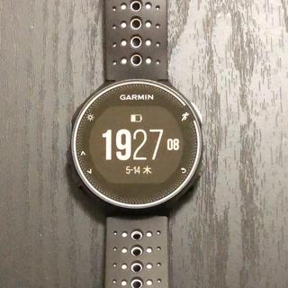 ガーミン(GARMIN)の【プードル様用】Garmin ガーミン 230j ブラック(腕時計(デジタル))