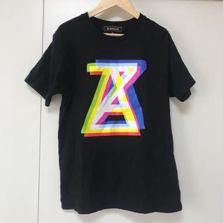 アンリアレイジ(ANREALAGE)のANREALAGE アンリアレイジ ロゴT Tシャツ ブラック(Tシャツ(半袖/袖なし))
