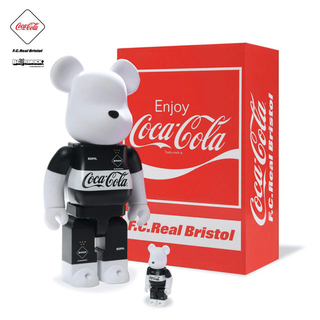 メディコムトイ(MEDICOM TOY)のF.C.Real Bristol  BE@RBRICK 100%&400%(その他)