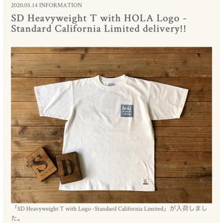 STANDARD CALIFORNIA - SD Heavyweight T with HOLA Logo Tシャツ