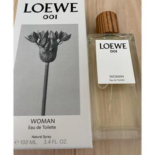 ロエベ(LOEWE)のLOEWE001 woman ロエベ001 EDT 100ml 未使用品(香水(女性用))