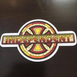 インディペンデント(INDEPENDENT)の【縦10.5cm横18cm】independent ステッカー(スケートボード)