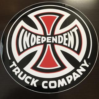 インディペンデント(INDEPENDENT)の【直径15.3cm】independent ステッカー 大(スケートボード)
