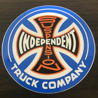 インディペンデント(INDEPENDENT)の【直径9cm 】independent ステッカー(スケートボード)