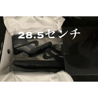 ブラックコムデギャルソン(BLACK COMME des GARCONS)のCOMME des GARCONS × W NIKE DUNK LOW 28.5(スニーカー)