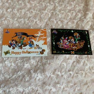 ディズニー(Disney)のディズニー ハロウィン ポストカード(使用済み切手/官製はがき)