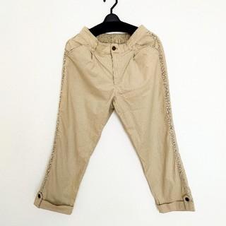 アクシーズファム(axes femme)のアクシーズファム 麻パンツ ズボン(クロップドパンツ)