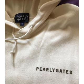パーリーゲイツ(PEARLY GATES)のPEARLYGATES  薄手プルオーバー(パーカー)