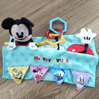 ディズニー(Disney)の手遊びいっぱい  ベビーカーフレンズ  ミッキー(ベビーカー用アクセサリー)