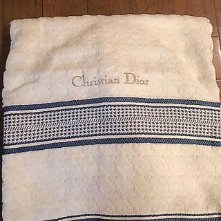 クリスチャンディオール(Christian Dior)のディオールバスタオル(タオル/バス用品)