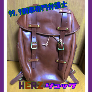 ヘルツ(HERZ)の❇️HERZ 99.9刑事専門弁護士 リュック 松本潤 嵐❇️(バッグパック/リュック)