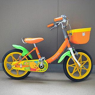 アイデス(ides)のオダ様専用 16インチ☆プーさん自転車(自転車)