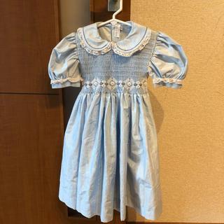 ディオール(Dior)のbaby Dior 半袖ドレス(ドレス/フォーマル)