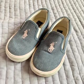 ポロラルフローレン(POLO RALPH LAUREN)のラルフローレン靴 15.5センチ お値下げ中!(スリッポン)
