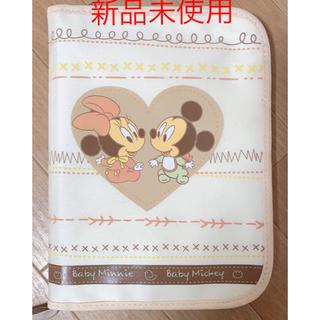 ディズニー(Disney)の母子手帳ケース ベビーミッキー ミニー(母子手帳ケース)