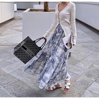 クリスチャンディオール(Christian Dior)のマハロ0417様専用 ブルー(ロングスカート)