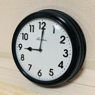 フランフラン(Francfranc)の掛け時計 黒 Francfranc(掛時計/柱時計)