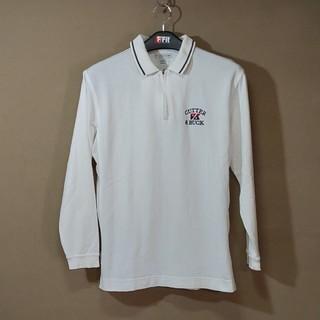 カッターアンドバック(CUTTER & BUCK)のcutter&buck 白 長袖  ポロシャツ(シャツ)