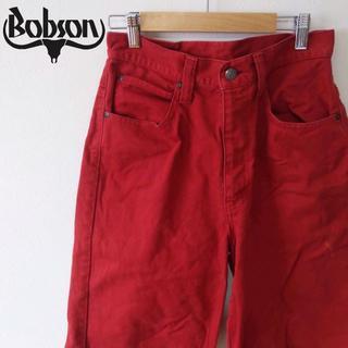 ボブソン(BOBSON)の【Bobson】ボブソン  ショートパンツ レッド(ハーフパンツ)