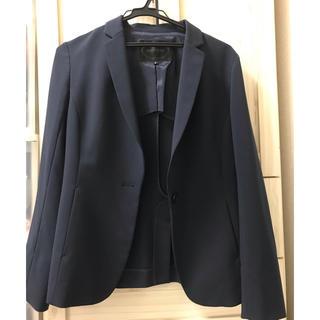 アンタイトル(UNTITLED)のUNTITLED スーツ 上下セット スカート ネイビー 未使用 アンタイトル(スーツ)