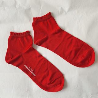 コムデギャルソン(COMME des GARCONS)の【新品未使用】tricot COMME des GARCONS 靴下(ソックス)