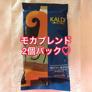 カルディ(KALDI)のKALDI♡カルディーファームコーヒー豆♡モカブレンド珈琲(コーヒー)