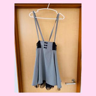 マーズ(MA*RS)のMA✳︎RS サスペンダー付きツートンスカート(ひざ丈スカート)