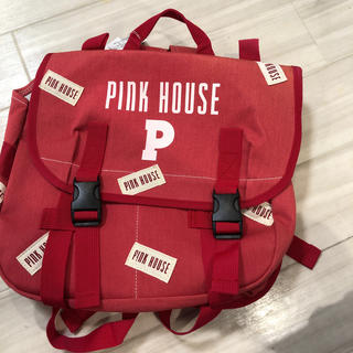 ピンクハウス(PINK HOUSE)のピンクハウス  ロゴ リュック(リュック/バックパック)