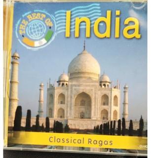 インド(1)南インド 古典舞踊の音楽 、Ravi ShankarCD2枚セット(宗教音楽)