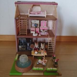 エポック(EPOCH)の【プルメリア27様 専用!】きらめく噴水の大きなお家いろいろセット(ぬいぐるみ/人形)