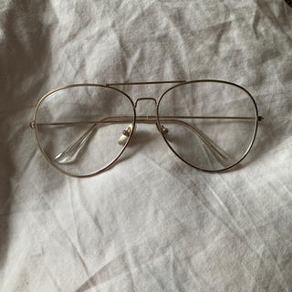 ザラ(ZARA)のクリア サングラス ティアドロップ伊達眼鏡 (サングラス/メガネ)