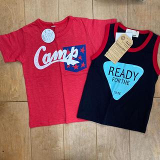 シスキー(ShISKY)の新品 Tシャツ タンクトップ 120㎝ 男の子 セット まとめ売り(Tシャツ/カットソー)