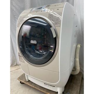ヒタチ(日立)の日立ドラム式洗濯乾燥機9.0kg 風アイロン、ビッグドラム BD-V3400L(洗濯機)