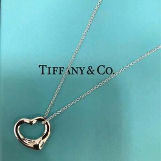 ティファニー(Tiffany & Co.)のティファニー/オープンハートネックレス(ネックレス)