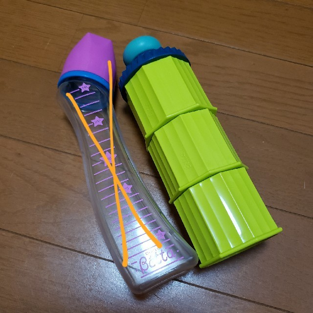 VETTA(ベッタ)のDoctor Betta ミルクケース セット キッズ/ベビー/マタニティの授乳/お食事用品(哺乳ビン)の商品写真