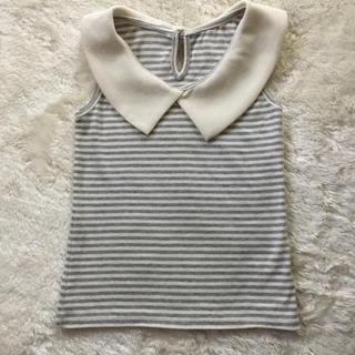 スナイデル(snidel)のスナイデルガール  タンクトップ、Tシャツ  120(Tシャツ/カットソー)