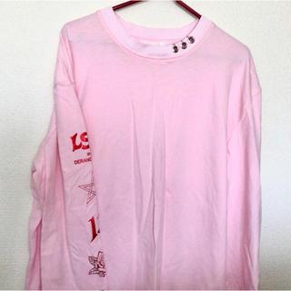 バブルス(Bubbles)のbubbles 袖プリント ロングTシャツ(Tシャツ(長袖/七分))