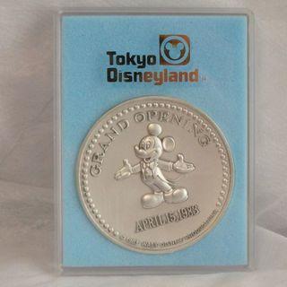 東京ディズニーランド 開園記念メダル