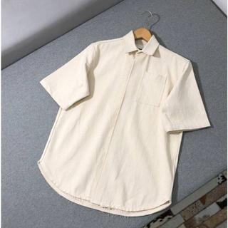 ジルサンダー(Jil Sander)のJILSANDER 20ss バックプリント シャツ(シャツ)