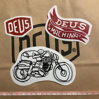 デウスエクスマキナ(Deus ex Machina)のDEUSステッカー⑦(その他)