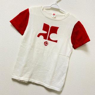クレージュ(Courreges)のCourreges ニット Tシャツ(Tシャツ/カットソー)