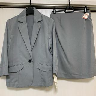 シマムラ(しまむら)のスーツ 上下セット 薄手 タグ付き(スーツ)