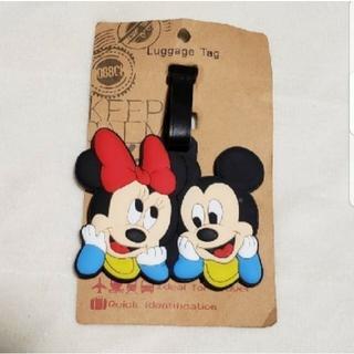ディズニー(Disney)のネームホルダー ラゲージタグ(旅行用品)