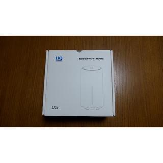 UQ WiMAX Speed Wi-Fi HOME L02 新品(携帯電話本体)